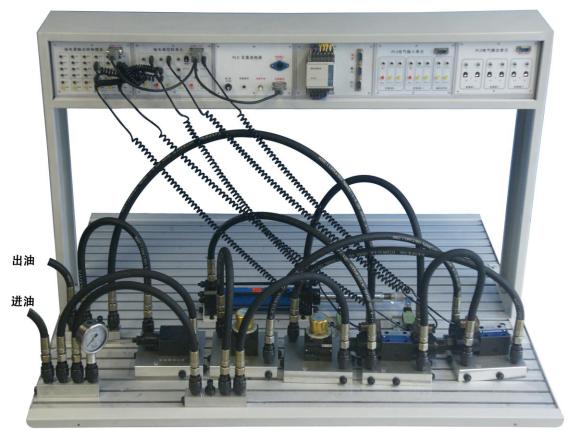 并联的速度换接回路-液压气动图片