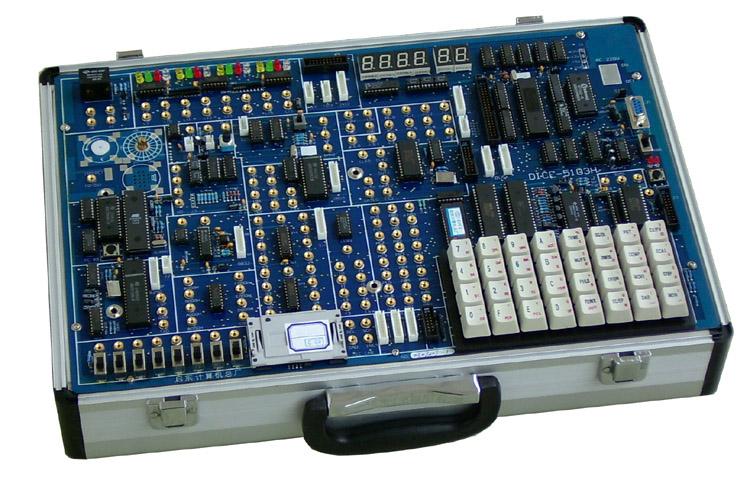pc示波器实验;电子音响实验;继电器控制;步进电机控制;8253方波实验